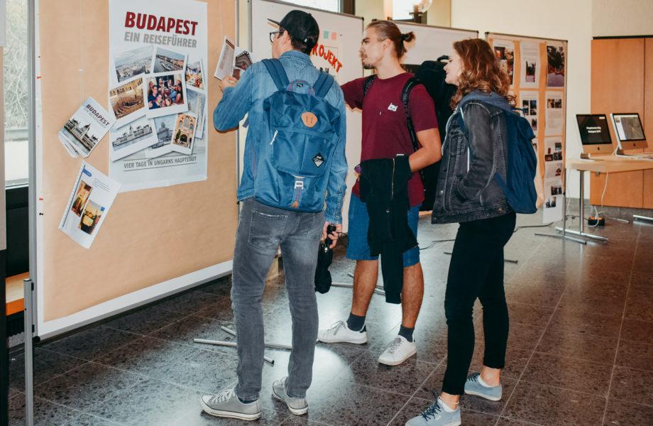 Beitragsbild Ausstellung Projektwochen und Kulturreisen 2018